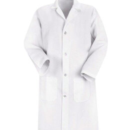 Одежда - Халат х/б белый медицинский новый 160/48 Рост - 158-164 Размер - 96-100, 0