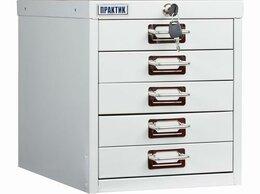 Шкафы для документов - Многоящичный шкаф ПРАКТИК MDC-A4/315/5, 0