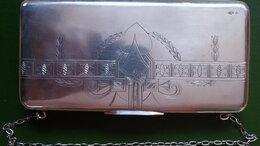 Клатчи - серебряная сумочка для театра, серебро 84 пр, 0