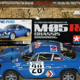 Сборные модели - Rc Tamiya M-05 Ra Alpine A110 Rally Ready Kit 1/10, 0
