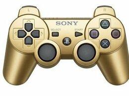 Рули, джойстики, геймпады -  Джойстик PS3 беспроводной Gold золотой, 0