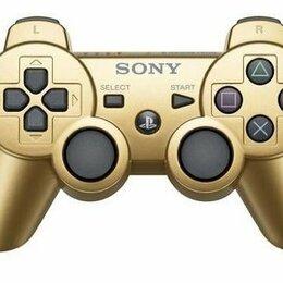 Аксессуары -  Джойстик PS3 беспроводной Gold золотой, 0