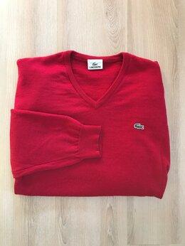 Свитеры и кардиганы - Lacoste оригинал 100 шерстяной свитер джемпер…, 0