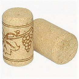 Штопоры и принадлежности для бутылок - Пробка винная агломерированная 23*33, 0