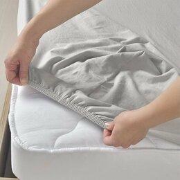 Постельное белье - Простыни на резинке из поплина, перкали, сатина, 0