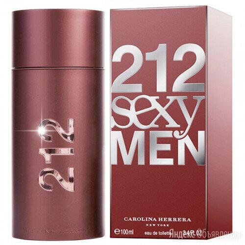 212 SEXY MEN CAROLINA HERRERA 100 ML по цене 900₽ - Парфюмерия, фото 0