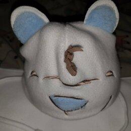 Головные уборы - Комплект для новорожденного, шапочка и шарфик., 0