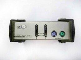 Проводные роутеры и коммутаторы - Коммутатор КВМ PS/2 2-портовый CS-82A (без блока п, 0
