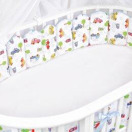 Постельное белье - бортики в кроватку заборчик, 0