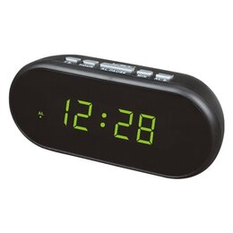 Часы настольные и каминные - Часы электронные USB 712-2 (темно-зеленный), 0