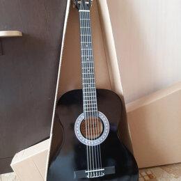 Акустические и классические гитары - Чёрная классическая гитара, 0