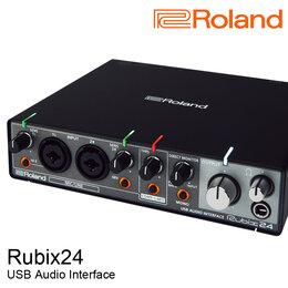 Звуковые карты - Roland Rubix24 Внешняя звуковая карта USB, 0