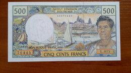 Банкноты - ФРАНЦУЗСКАЯ ПОЛИНЕЗИЯ  500 франков 2007 г., 0