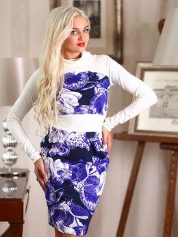 Платья - Дизайнерское нарядное платье р. 46-48, 0