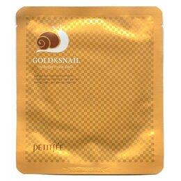 Маски - Гидрогелевая маска с золотом и улиточным муцином…, 0