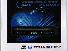 ТВ-приставки и медиаплееры - Цифровой кабельный приемник Lumax DVC-2300 HD, 0