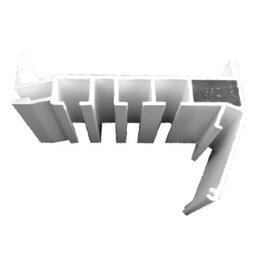Отделочный профиль, уголки - ПРОФИЛЬ FLEXY ПК-12 з-рядная гардина, 0