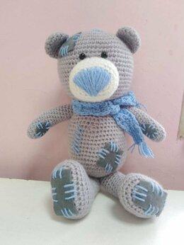 Мягкие игрушки - Вязаная игрушка. Медведь. , 0