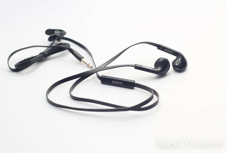 Наушники проводные с микрофоном Langsdom IN5, черный по цене 250₽ - Наушники и Bluetooth-гарнитуры, фото 0