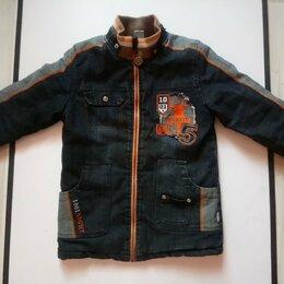 Куртки и пуховики - Куртка Джинсовая На Мальчика 110/56, 0