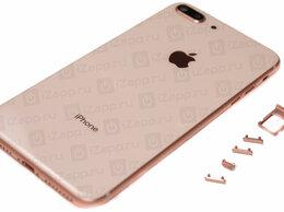 Корпусные детали - Корпус iPhone 8 Plus (золотой), 0