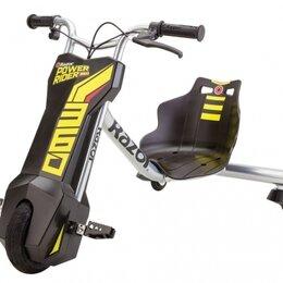 Мото- и электротранспорт - Электроскутер для дрифта razor power rider 360 , 0