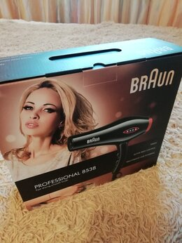 Фены и фен-щётки - Фен braun professional 8538, 0