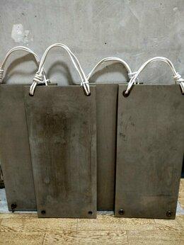 Металлопрокат - Обработанные железные пластины, 25х55х2.6см, 28кг, 0