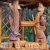 Домик на колодец сова-сорока по цене 105000₽ - Садовые фигуры и цветочницы, фото 2