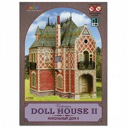 Сборные модели - Кукольный дом (Сборная игрушка из картона), 0