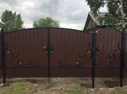 Заборы и ворота - Ворота из профнастила, 0