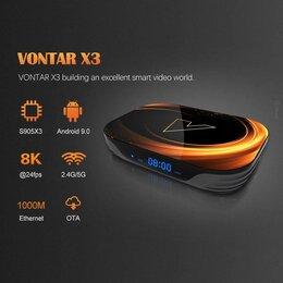ТВ-приставки и медиаплееры - Vontar X3 4/32 ТВ приставка, 0