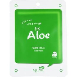 Маски - Маска тканевая с экстрактом алоэ MJ Care Aloe…, 0