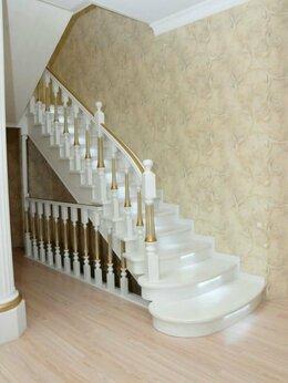 Лестницы и элементы лестниц - Деревянная лестница на второй этаж , 0