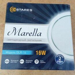 Настенно-потолочные светильники - Светодиодный накладной светильник Marella DLR-16, 0