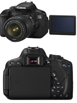 Фотоаппараты - Зеркальный цифровой фотоаппарат Canon EOS 650 D…, 0