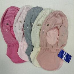 Головные уборы - Шапка - шлем на девочку, 0