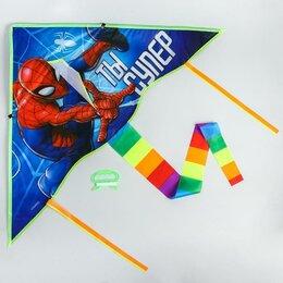 Ночники и декоративные светильники - Воздушный змей «Ты супер», Человек-паук, 70 x 105 см, 0