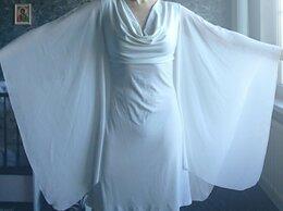 Платья - Платье с шифоновыми рукавами, 0