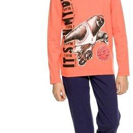 """Домашняя одежда - Комплект для мальчиков """"Это в моей ДНК"""" (брюки), 0"""