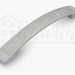 Комплектующие - Ручка-скоба 128мм хром матовый: UR2708/128, 0
