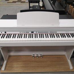 Клавишные инструменты - Белое цифровое пианино Orla CDP 101, 0