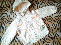 Куртки и пуховики - Куртка на мальчика с вышивкой, состояние новой, 0