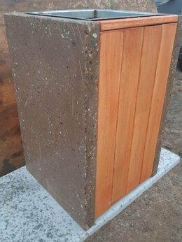 Мусорные ведра и баки - Урна бетонная «Эльдорадо», 450х450х700 мм, 0