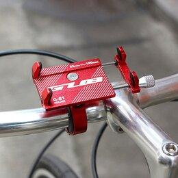 Прочие аксессуары и запчасти - Велосипедный держатель телефона GUB G-81, 0