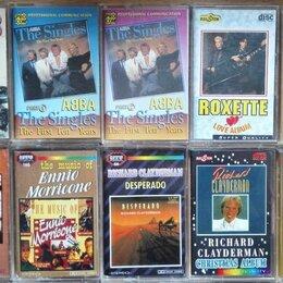 Музыкальные CD и аудиокассеты - Аудиокассеты Аbba Whitney Houston Roxette Enigma 3, 0