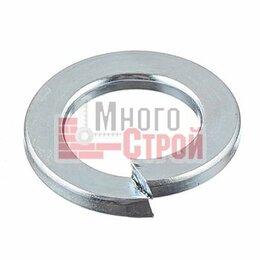 Шайбы и гайки - Шайбы пружинные DIN 127 (цинк) 10,0, 0