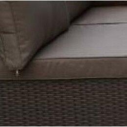 Диваны и кушетки - Плетеный модульный диван YR822BB-Brown, 0