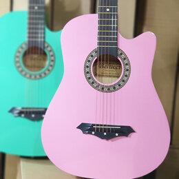 Акустические и классические гитары - Гитара belucci розовая, 0