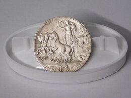 Монеты - Серебряная 1₺ (лира) 1913 года, Италия., 0